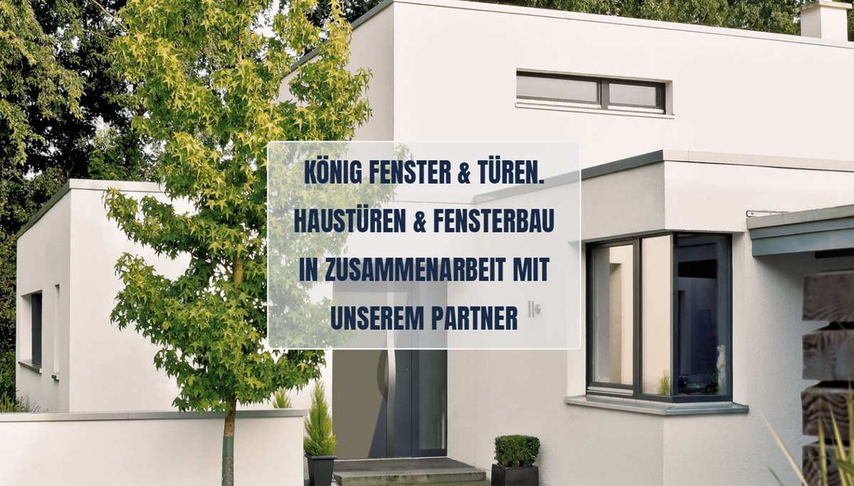 Haustüren in Heilbronn - König Fenster & Türen: Fensterbau in Zusammenarbeit mit unserem Partner, Innentüren, Türenbau, Reparatur Service, Eingangstüren